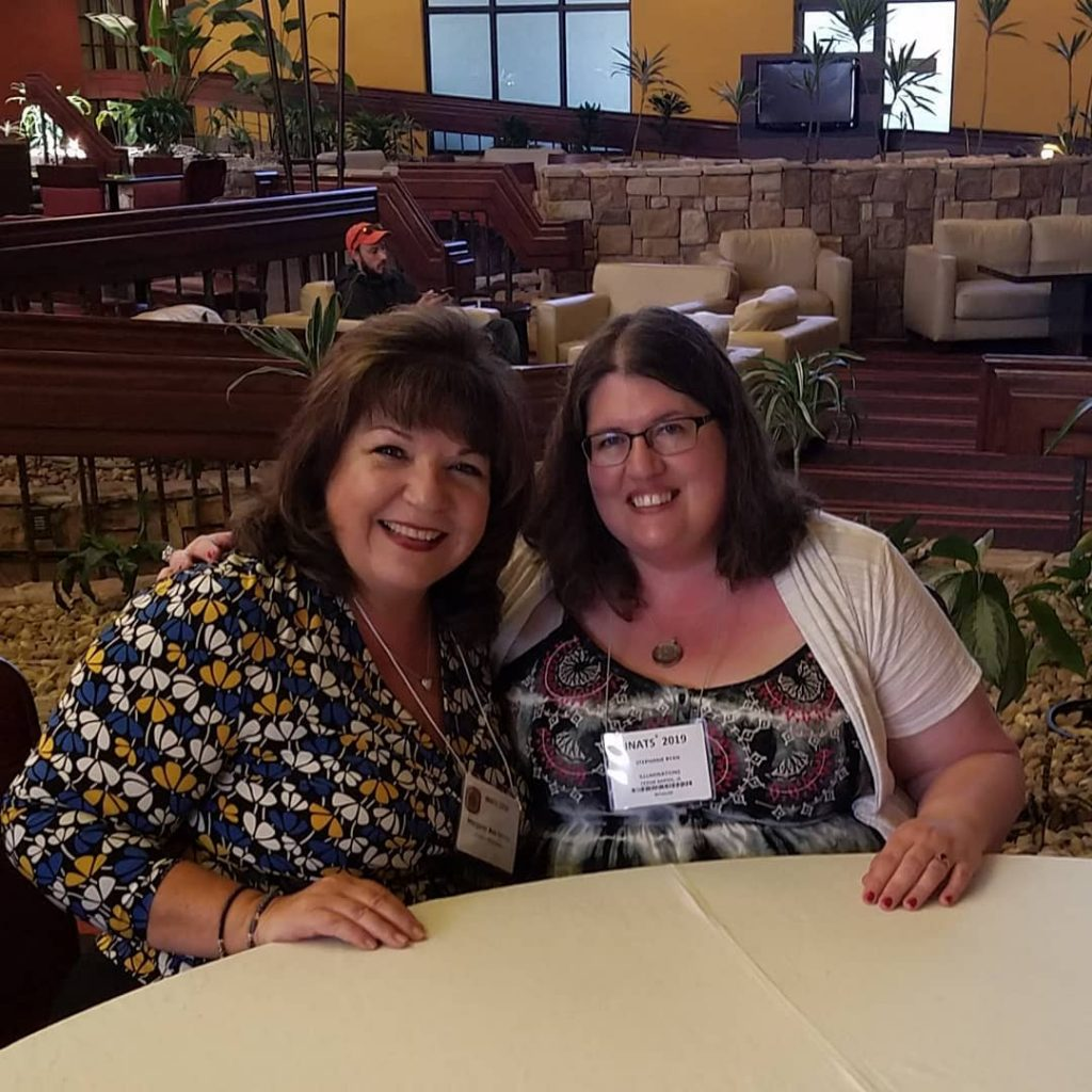 Margaret Ann Lembo and Stephanie Ryan at INATS 2019
